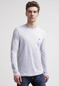 Lacoste - Maglietta a manica lunga - silver chine - 0