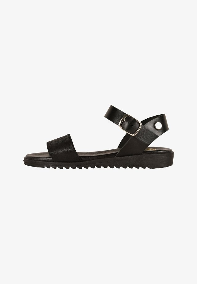 CACHOU - Sandali con cinturino - black