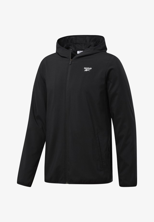 TRAINING ESSENTIALS JACKET - Treningsjakke - black
