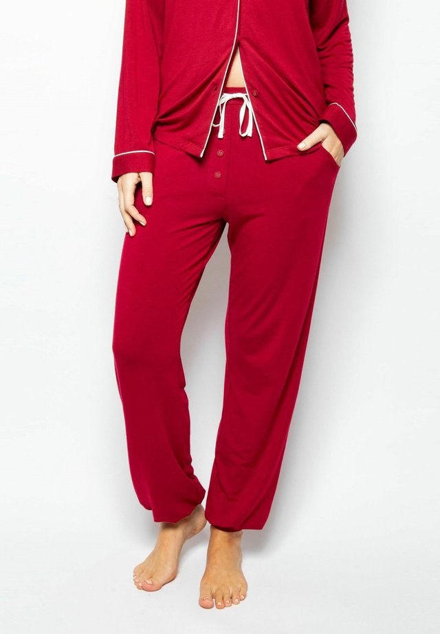Pyjama bottoms - red