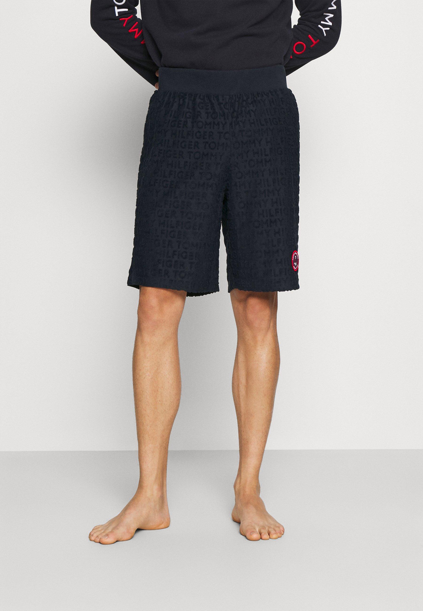 Homme RETRO TOWELLING TRACK SHORT - Bas de pyjama