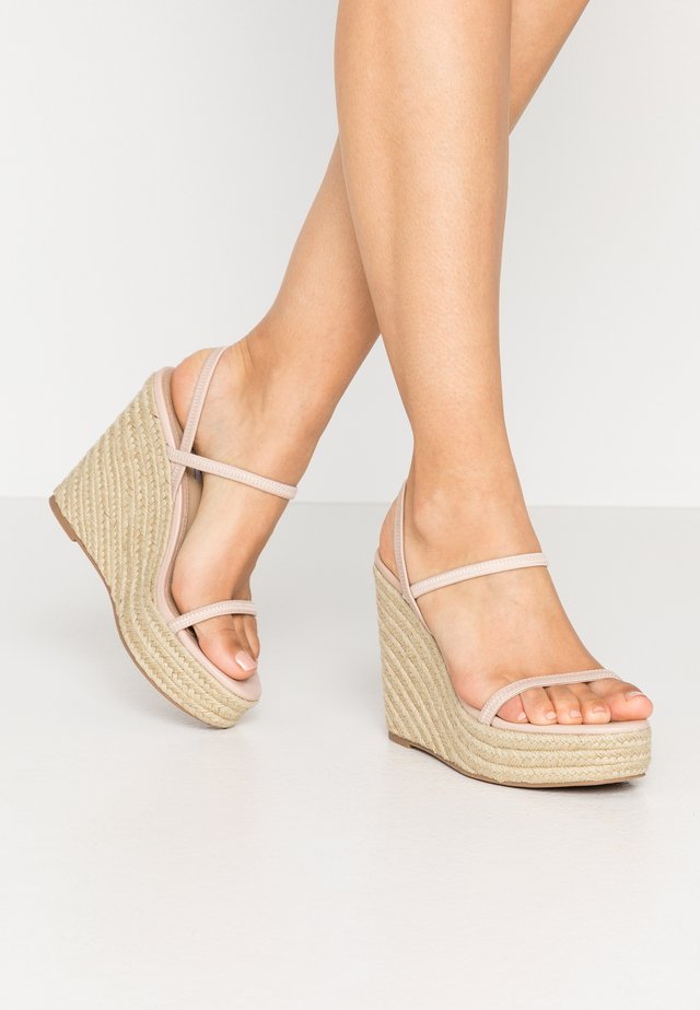 SKYLIGHT - High heeled sandals - nude