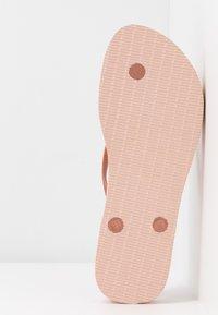 Havaianas - SLIM FLATFORM - Pool shoes - ballet rose - 5