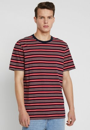 CLASSIC CREWNECK TEE - T-shirt med print - red