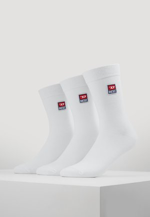SKM-RAY THREEPACK 3 PACK - Socks - white