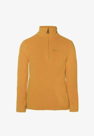TOP PERFECT  - Fleece jacket - dark yellow