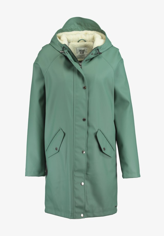 JANICE TEDDY - Waterproof jacket - cypress