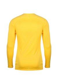 Nike Performance - Sports shirt - tour yellow / black - 1