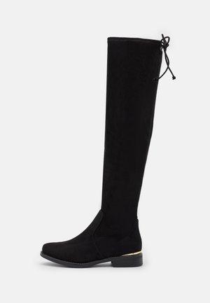 VEGAN ANIDDA - Over-the-knee boots - black