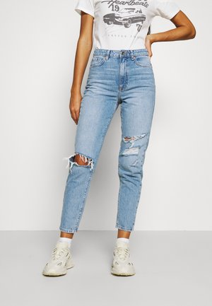 DAGNY MOM - Relaxed fit jeans - ocean blue