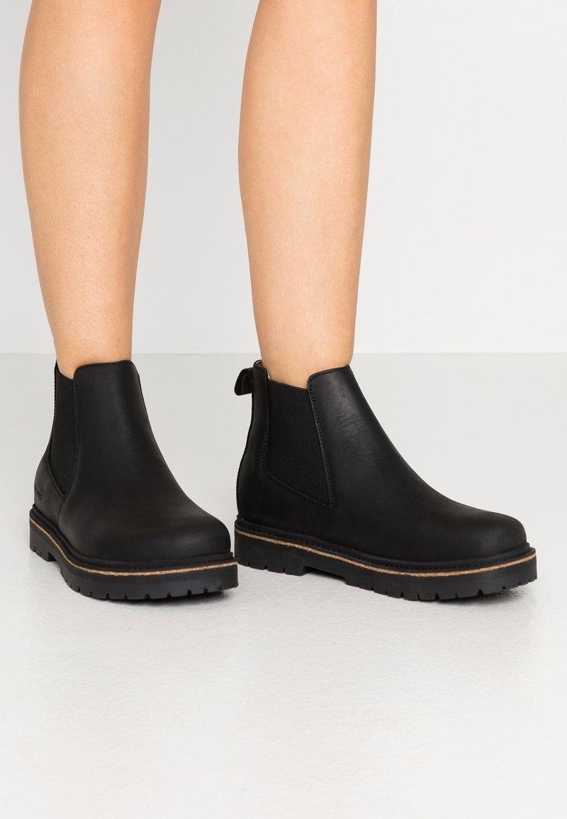 Birkenstock - STALON - Classic ankle boots - black