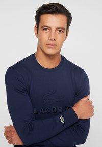 Lacoste - T-shirt à manches longues - navy blue - 4