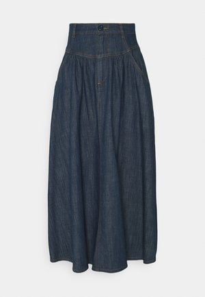 Denim skirt - denim blue