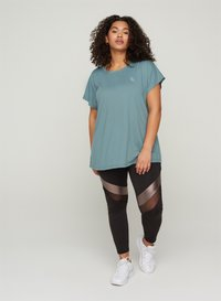 Active by Zizzi - Basic T-shirt - grey - 1