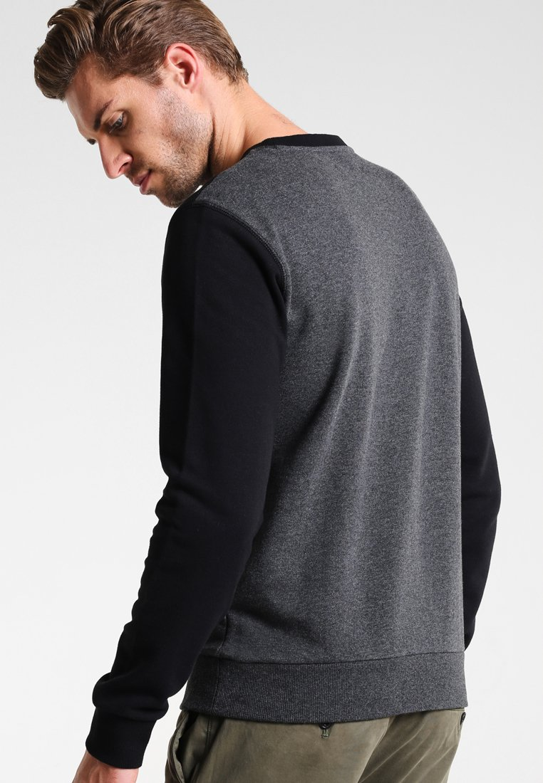 Pier One Sweatshirt - mottled dark grey/dunkelgrau-meliert GeYzj3