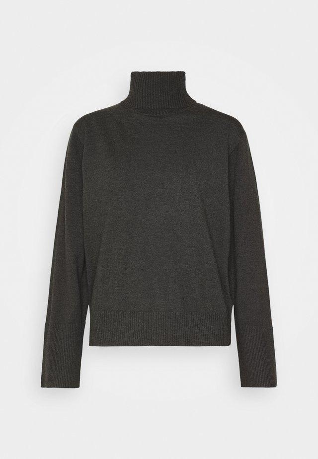 KAVA  - Sweter - dark grey / melange