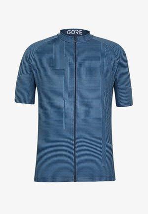 LINE BRAND TRIKOT - T-shirt imprimé - deep water blue/orbit blue