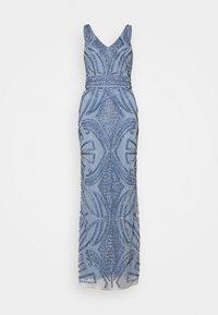 Lace & Beads - FALLYN MAXI - Vestido de fiesta - dusty blue - 3