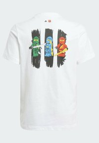 adidas Performance - LEGO NINJAGO - Print T-shirt - white - 1