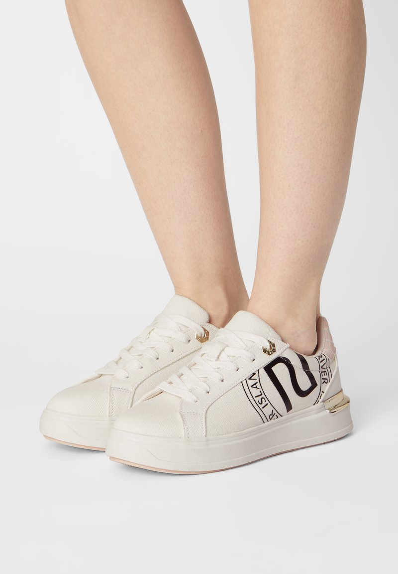 River Island Wide Fit - Sneakers basse - white