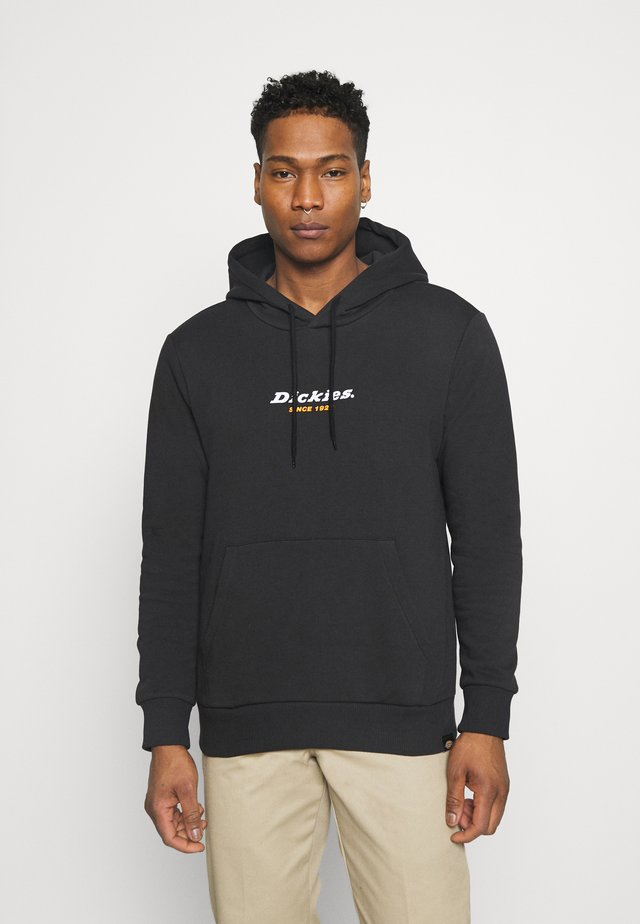 CENTRAL HOODIE - Sweatshirt - black