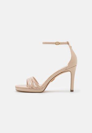VEGAN MELISSA  - Sandaalit nilkkaremmillä - beige