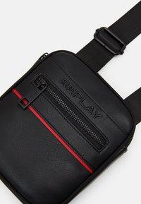 Replay - CROSSBODY - Across body bag - black - 4