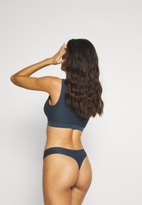 Chantelle - SOFT STRETCH - Thong - bleu hiver - 2