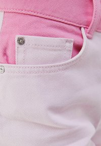 Bershka - Relaxed fit jeans - pink - 5
