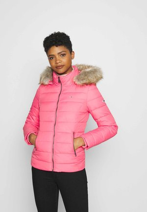 ESSENTIAL HOODED - Winter jacket - glamour pink