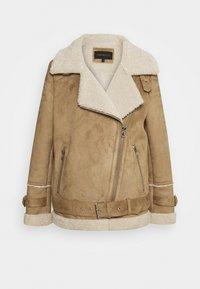 Oakwood - COMMUNITY - Faux leather jacket - beige - 0