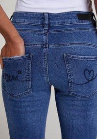 Oui - Slim fit jeans - blue denim - 4