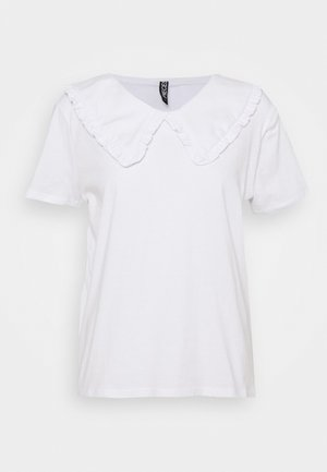 PCANIKA TEE - Print T-shirt - bright white