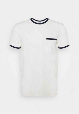 CREW - T-shirt med print - blanc de blanc