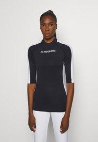 J.LINDEBERG - MARGOT SOFT COMPRESSION - Sports shirt - navy - 0