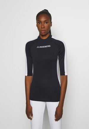MARGOT SOFT COMPRESSION - Sports shirt - navy