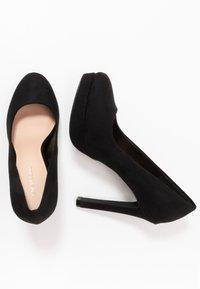 Even&Odd Wide Fit - High heels - black - 3