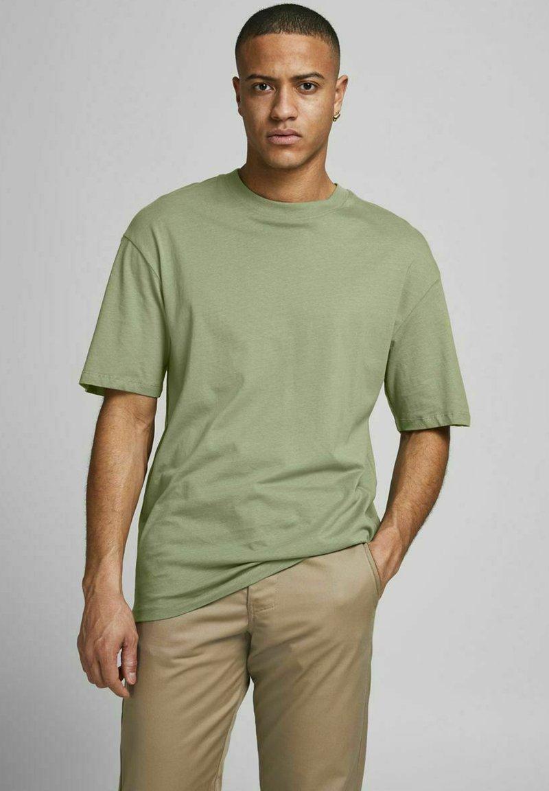 Jack & Jones - JORBRINK TEE CREW NECK - Basic T-shirt - sea spray