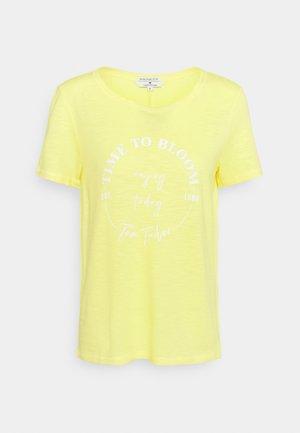 Camiseta estampada - smooth yellow
