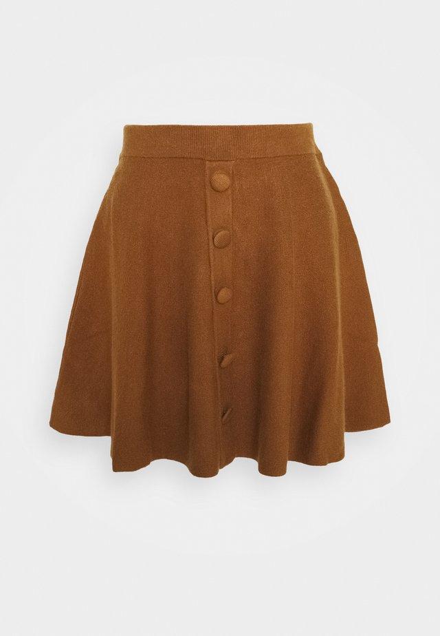 YASFONNY SKIRT - Mini skirt - rubber