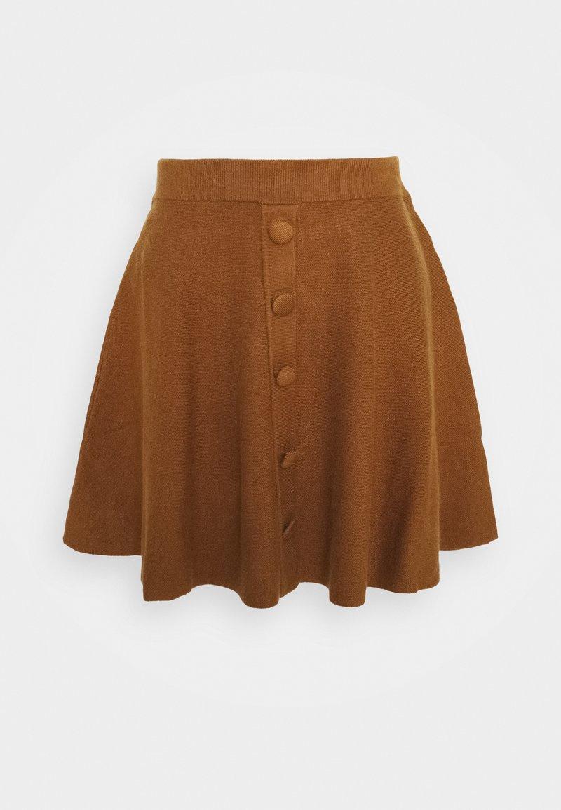 YAS Petite - YASFONNY SKIRT - Mini skirt - rubber