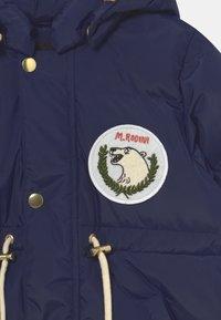 Mini Rodini - POLAR BEAR PATCH PUFFER UNISEX - Winter coat - navy - 3