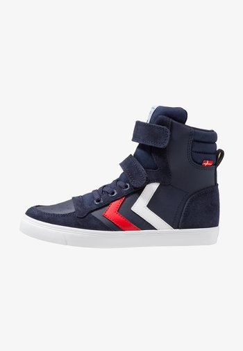 SLIMMER STADIL - High-top trainers - peacoat