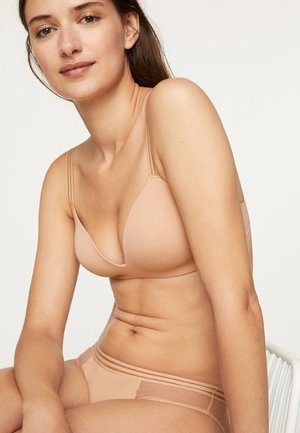 EXTRAKOMFORTABLER MIKROFASER-BH 30159577 - Soutien-gorge triangle - nude