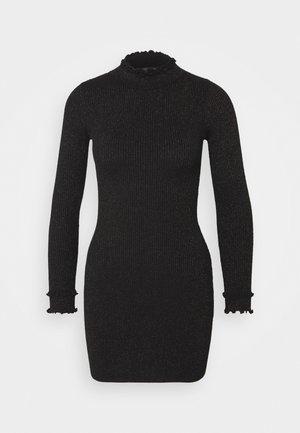 ASHLEE - Vestido de punto - black