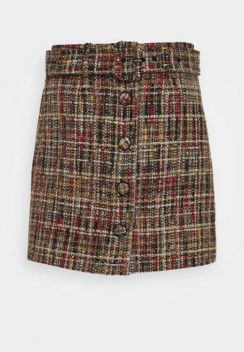 SKIRT - Mini skirt - multicolour
