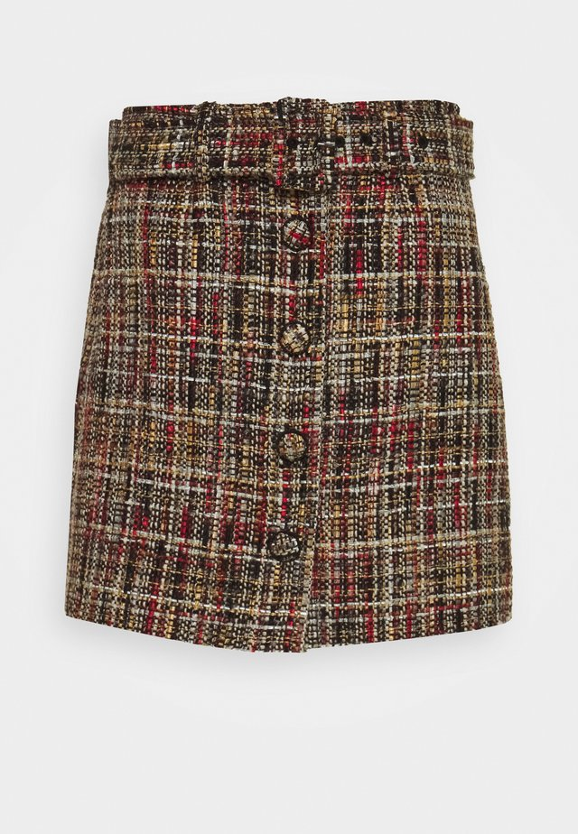 SKIRT - Minifalda - multicolour