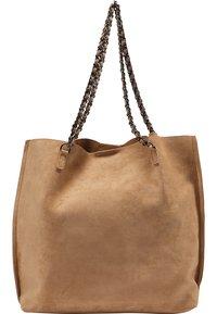 IZIA - Tote bag - camel - 1