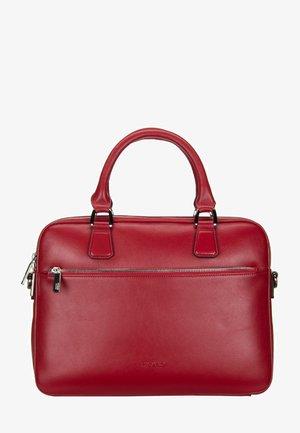 MAGGIE - Briefcase - red