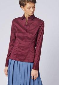 BOSS - BASHINA - Button-down blouse - dark pink - 0